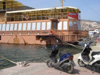 """Ресторан """"Принц"""" на воде. Балаклава."""