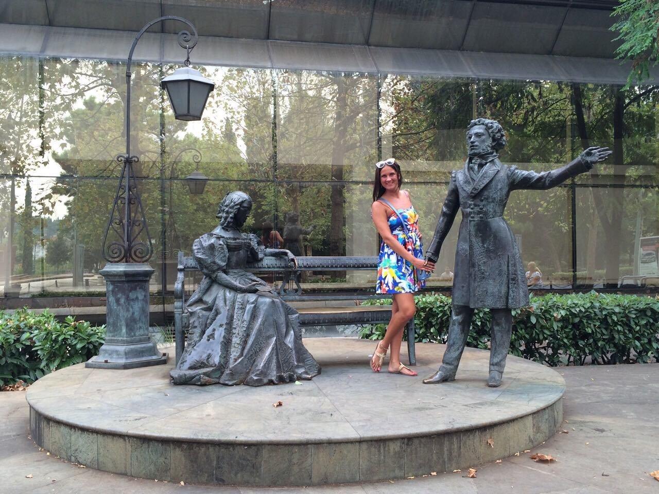 Памятник Пушкину в подгорице