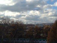 Вид на Александров со смотровой площадки колокольни