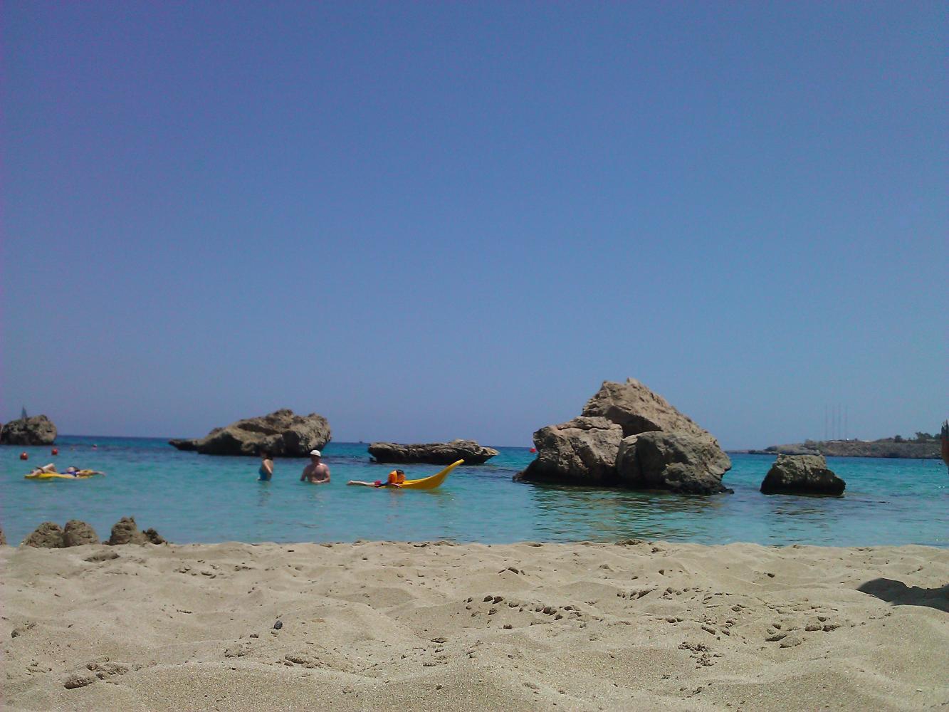 тихий пляж