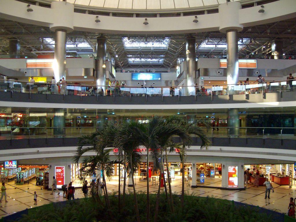 турция фото анталия аэропорт