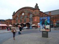 Фасад центрального вокзала