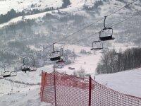 Главная трасса горнолыжного центра Харенда.