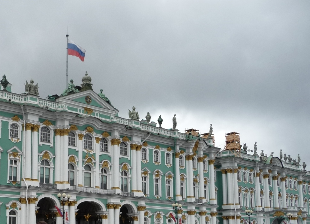 Фасад со стороны Дворцовой площади