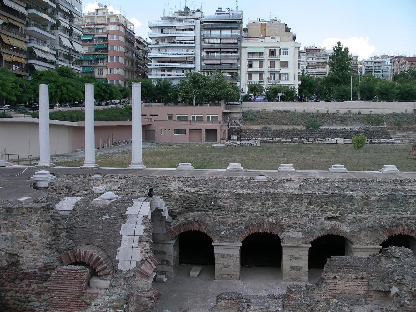 Раскопки в Салониках