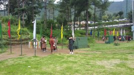 Стрельба из лука - национальный спорт Бутана