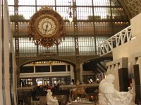 Часы в Музее Д'Орсе