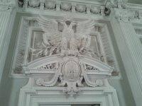 Над входом в Царскую ложу