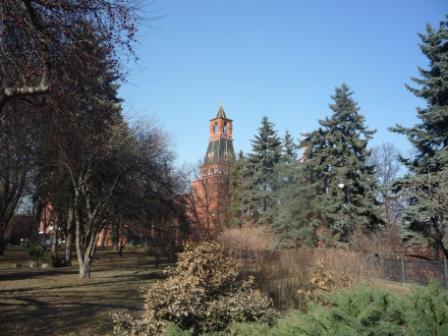 В парке Кремля