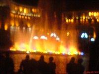 Поющие фонтаны вечером