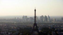 Эифелева башня с крыши Монпарнаса