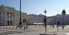 Площадь объединения Италии в Триесте
