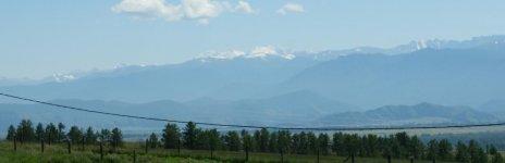 Вид с Асонова Ключа на гору Белуха
