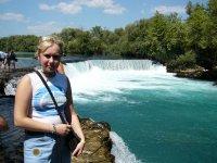 Вид на водопад Манавгат