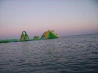 Детская площадка в море