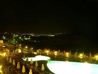 вид с балкона ночью