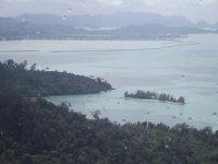 вид на Лангкави с высоты птичьего полета