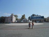 Вид на Колхидский фонтан