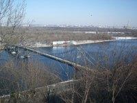 вид на пешеходный мост