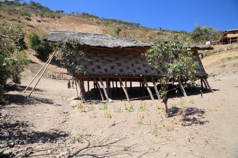 Школа в чинской деревне