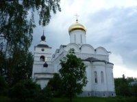 Храм Страстотерпцев Бориса и Глеба в Борисоглебском монастыре.