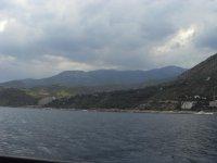 Вид на панораму с моря