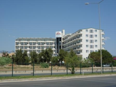 Отель вид с пляжа
