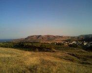 Вид с горы на поселок