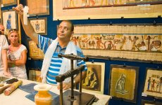 Лавка с папирусами