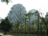 новый жилой микрорайон в Саньявань