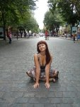 Дерибасовская - только для пешеходов