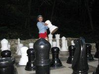 Шахматы на детской площадке