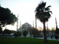 Вид на Голубую мечеть