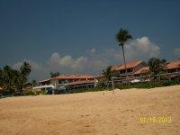 Вид отеля с океана