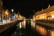 Ночной Страсбург