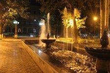 Небольшой фонтан