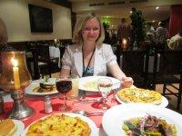 Гигантские порции в Итальянском ресторане