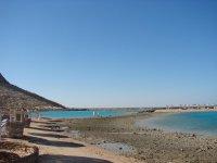 Пляж(небольшой отлив)