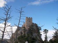 Самая верхняя точка замка Святого Иллариона