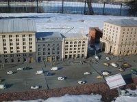 Улица Крещатик в миниатюре
