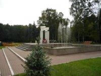 Мемориал павшим в Великую Отечественную.