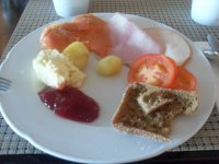 Завтрак, вернее - малая его толика