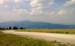 Горная дорога в Альпах