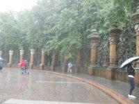 Решетки храмовой ограды.