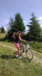 По горам на велосипеде