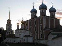 Рязанский Кремль. Вид на Собор Успения Пресвятой Богородицы