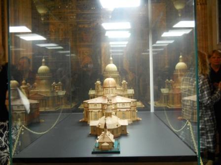 Последовательность создания зданий храма.