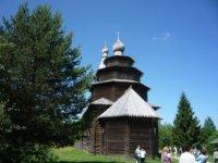 Церковь Николы из деревни Высокий Остров.