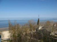 "Вид на море и пляж с балкона отеля ""Baltic Beach"""