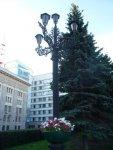 Малые архитектурные формы у театра имени Наума Орлова.
